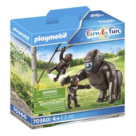 Play. Gorilla kicsinyeivel
