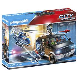 Play. Rendőrségi helikopter: Menekülő autós nyomában
