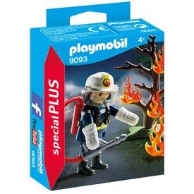 Playmobil Tűzoltó égő fával 9093