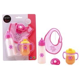 Játékbaba etető 4 darabos készlet