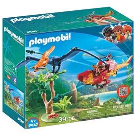 Playmobil Helikopter repülő dínóval 9430