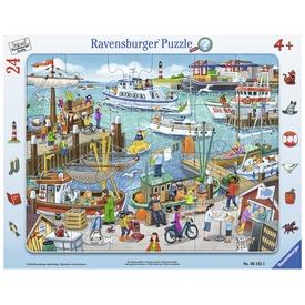 Egy nap a kikötőben 24 darabos puzzle