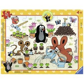 Kisvakond a kertben 32 darabos puzzle