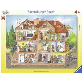 Ilyen a házunk 30 darabos puzzle