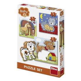 Babypuzzle 3-5 db