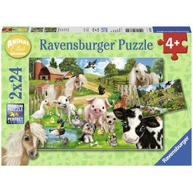 Állati klub 2 x 24 darabos puzzle