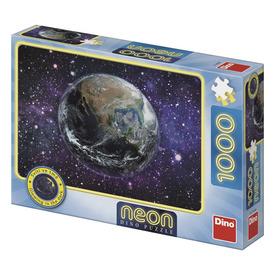 Puzzle 1000 db neon - Föld bolygó