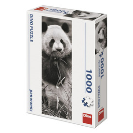 Puzzle 1000 db panoráma - panda