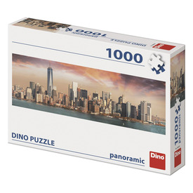 Puzzle 1000 db panoráma - Manhattan