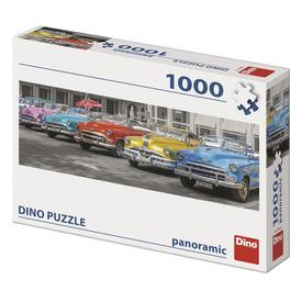 Puzzle 1000 db panoráma - autótalálkozó