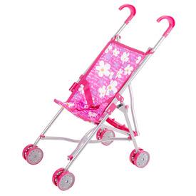 Fémvázas sport babakocsi - rózsaszín