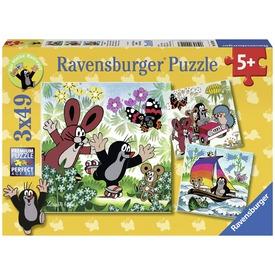 Kisvakond utazik 3 x 49 darabos puzzle