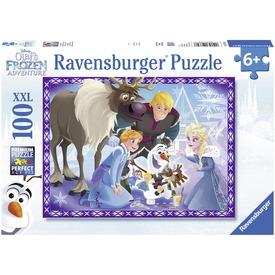Jégvarázs család 100 darabos XXL puzzle