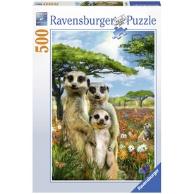 Szurikáta család 500 darabos puzzle