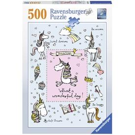 Unikornisok 500 darabos puzzle