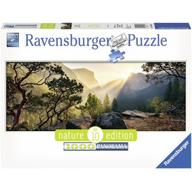 Yosemite nemzeti park 1000 darabos panoráma puzzle