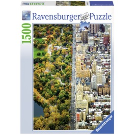 New York Central Park 1500 darabos puzzle
