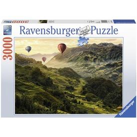 Ázsiai rizsteraszok 3000 darabos puzzle