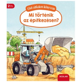 Mi történik az építkezésen ablakos könyv