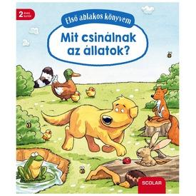 Mit csinálnak az állatok ablakos könyv