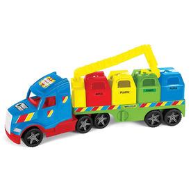 Wader magic truck szelektív kukásautó