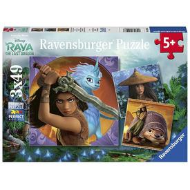 Puzzle 3x49 db - Raya és az utolsó sárkány