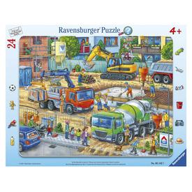 Puzzle 24 db - Építkezés