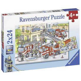 Puzzle 2x24 db - Tűzoltók