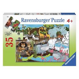 Puzzle 35 db - Egy nap az állatkertben