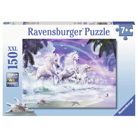 Puzzle 150 db - Unikornisok a parton