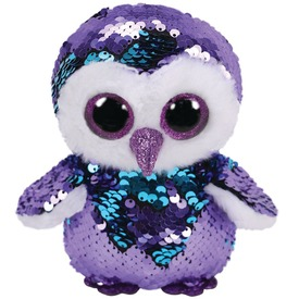 Beanie Boos MOONLIGHT flitter. bagoly 15cm TY