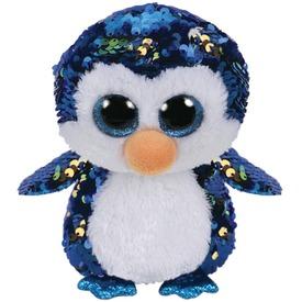 Payton pingvin flitteres plüssfigura - 24 cm