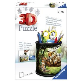 Puzzle 3D 54 db - Ceruzatartó nagymacskák