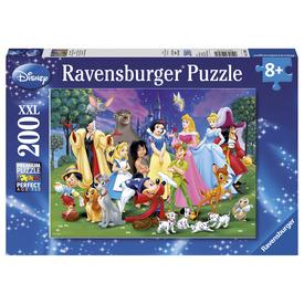 Puzzle 200 db - Disney kedvencek