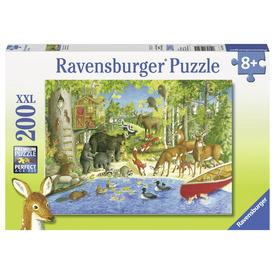 Puzzle 200 db - Erdei barátok