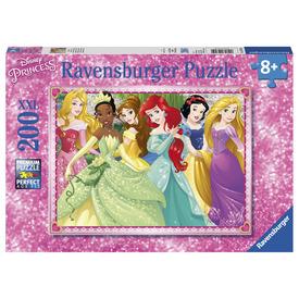 Puzzle 200 db - Disney hercegnők