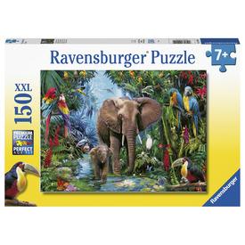 Puzzle 150 db - Elefántok