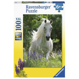 Puzzle 100 db - Fehér ló