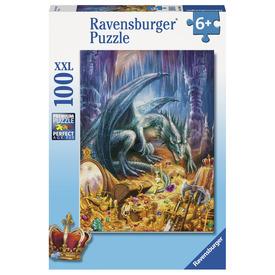 Puzzle 100 db - A kincsesbarlang sárkánya