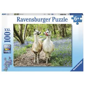 Puzzle 100 db - Láma barátok
