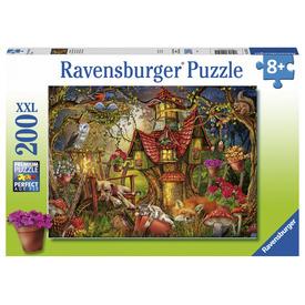 Puzzle 200 db - Erdei házikó