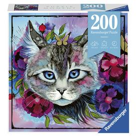 Puzzle 200 db - Macskaszem