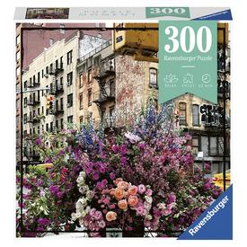 Puzzle 300 db - Virágok New Yorkban