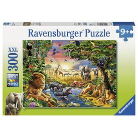 Puzzle 300 db - északai fény és az állatok