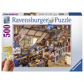 Puzzle 500 db - Nagymama padlása