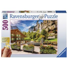 Puzzle 500 db - Lauterbrunnen