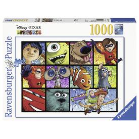 Puzzle 1000 db - Fröcskölt művészet