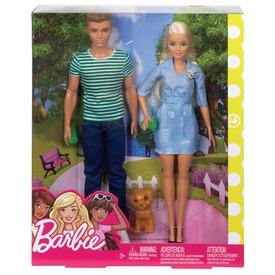 Barbie és Ken kutyussal FTB