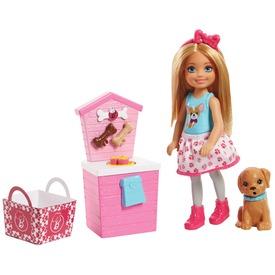 Barbie Chelsea kutyusos játékszett FHP