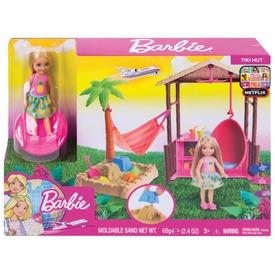 Barbie Chelsea trópusi játékkészlet - 12 cm